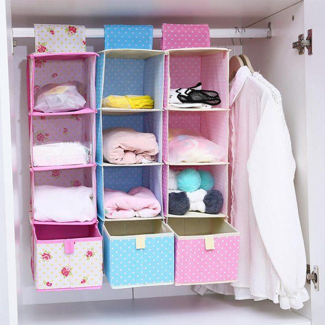 Органайзер для белья в шкафу-купе
