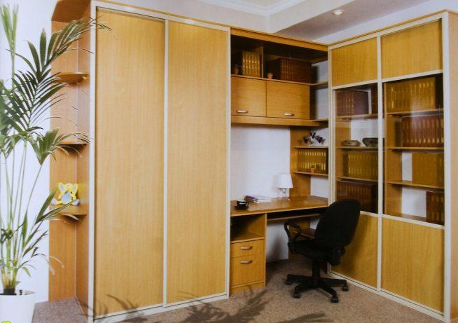 Многофункциональный шкаф с рабочим местом