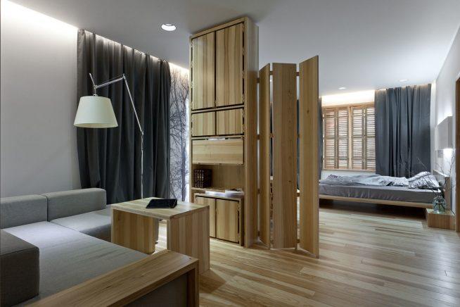 Дизайн студии в скандинавском стиле