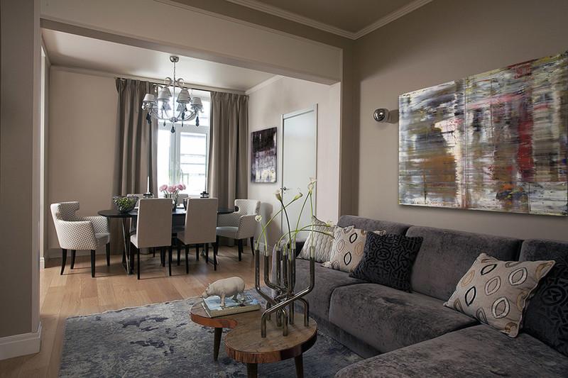 Европейский дизайн квартиры-студии: несколько советов по выбору стиля