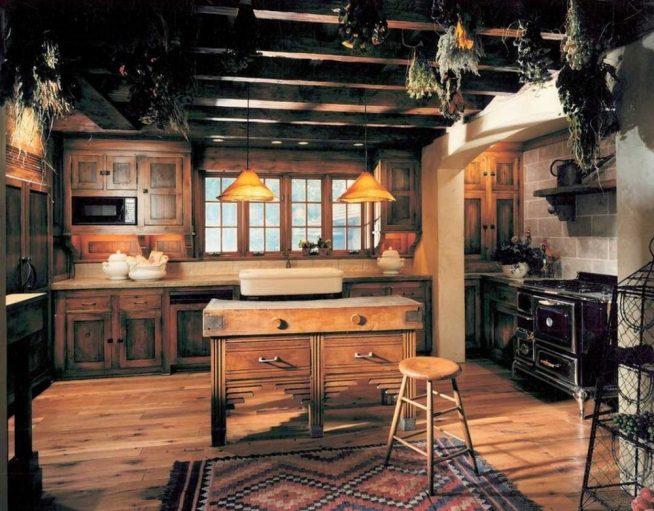Оформление квартиры в деревенском стиле