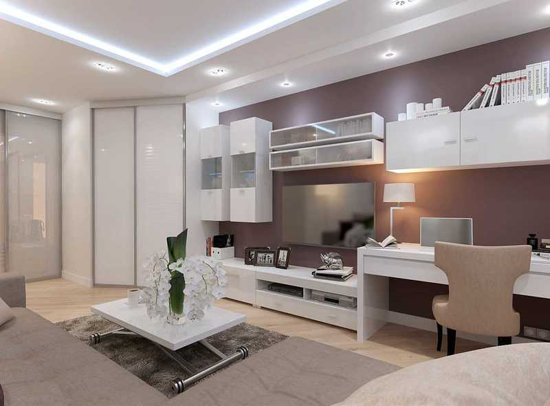 Как сделать гостиную площадью 20 кв. м удобной и стильной