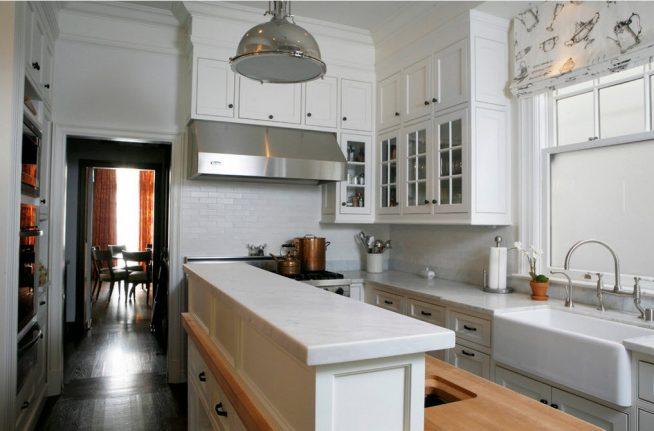 Вариант дизайна небольшой кухни