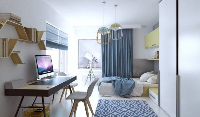 Небольшой кабинет в спальне