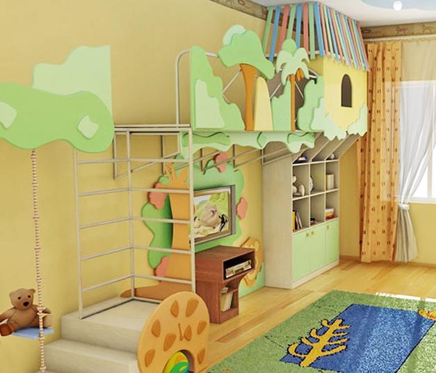 Вариант детской игровой зоны