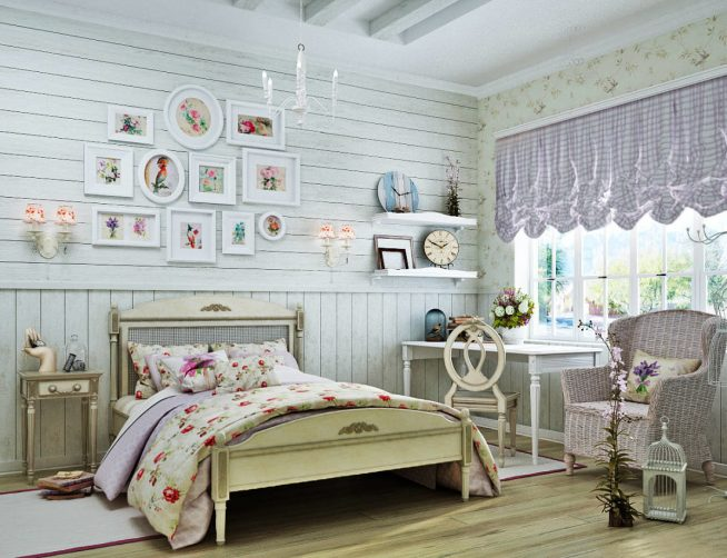 Спальня для девочки в стиле прованс