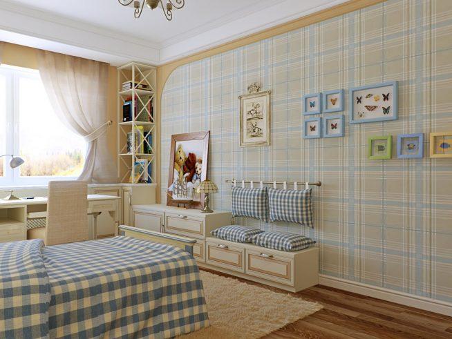 Комната подростка в стиле прованс