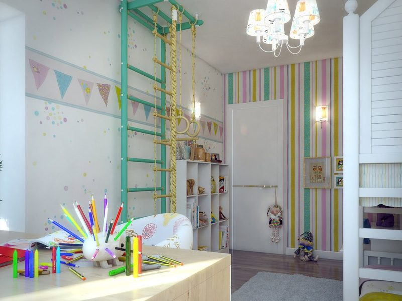 Интерьеры детской комнаты 20 кв. м: идеи профессионалов