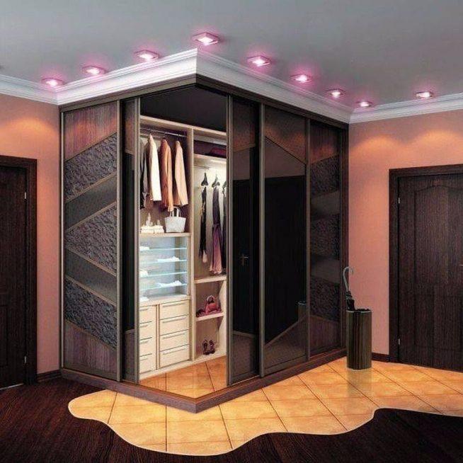 Шкаф-гардеробная современного дизайна