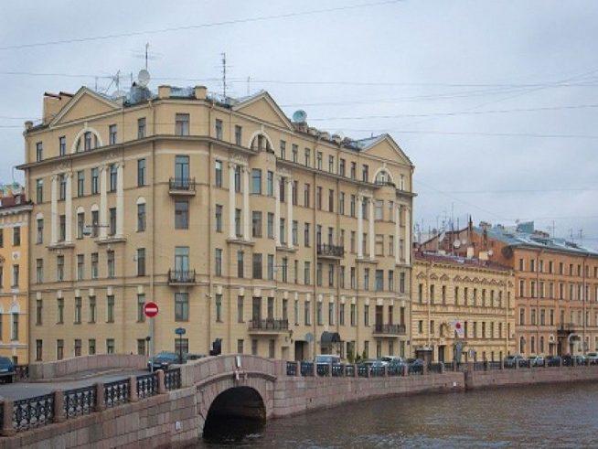 Дом, в котором живет Михаил Боярский
