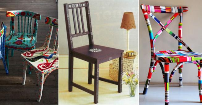 Варианты обновления стульев