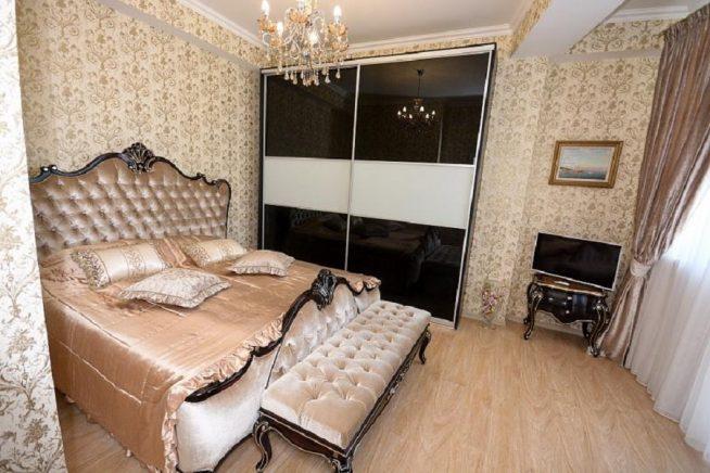 Спальня в квартире Юрия Шатунова
