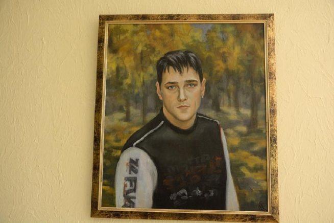 Портрет Юрия Шатунова