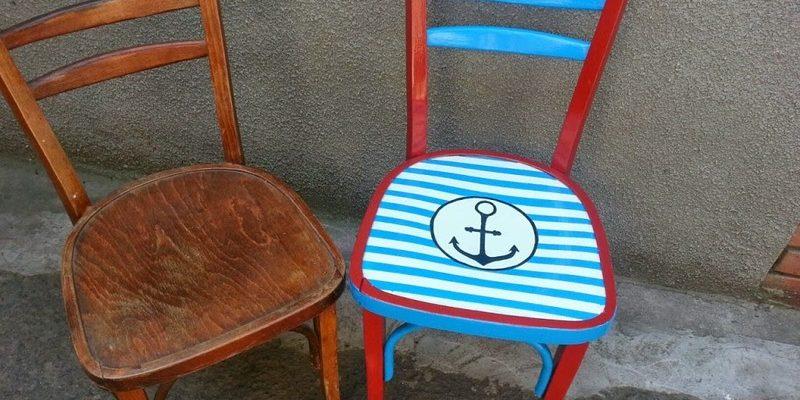 Обновленный стул