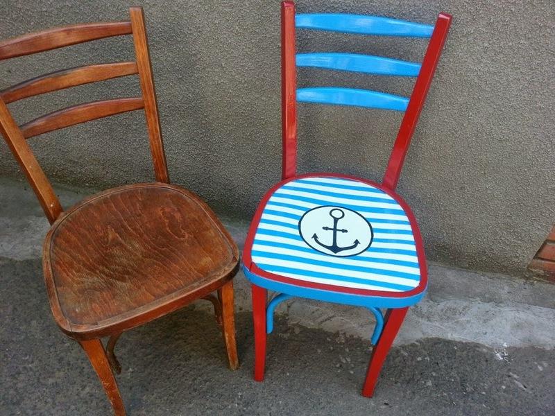 Варианты обновления старых стульев и табуреток своими руками