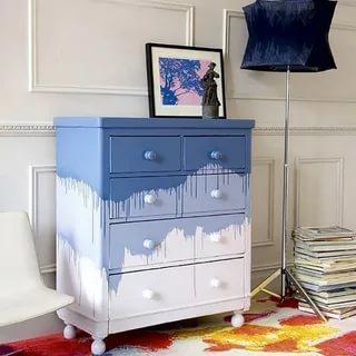 Обновляем старый комод своими руками: простые техники для преображения мебели