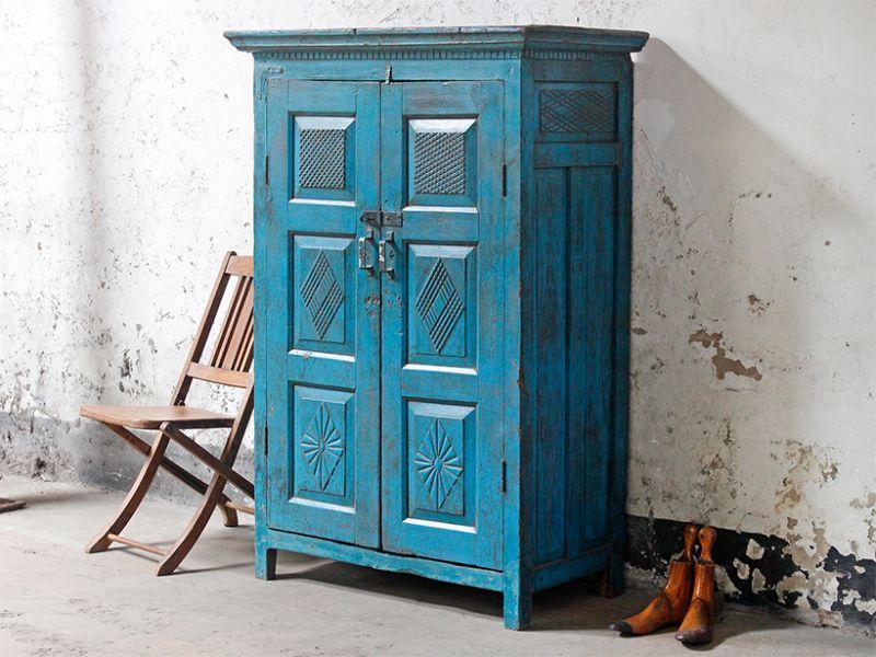 Обновляем старый шкаф своими руками: фотографии интересных вариантов