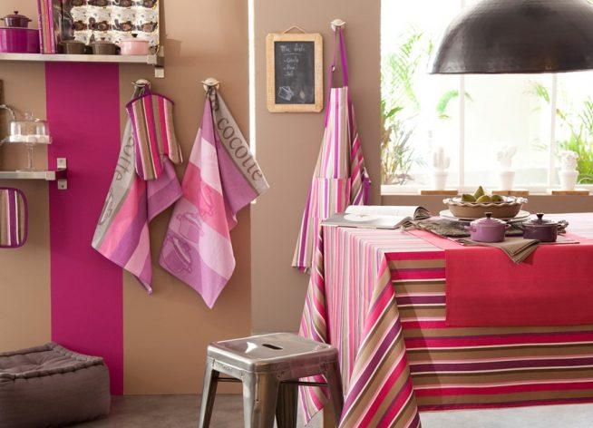 Яркий текстиль для кухни
