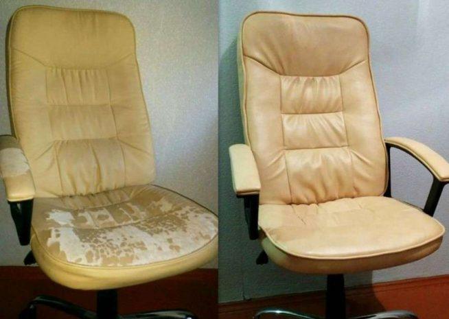 Обновление офисного кресла