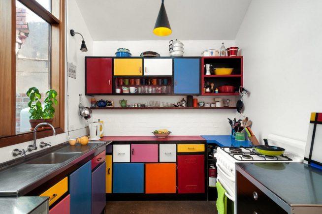 Обновленные фасады на кухне