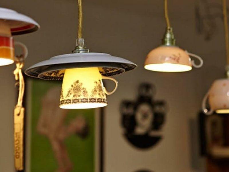 Люстры и светильники своими руками из подручных материалов: оригинальные идеи