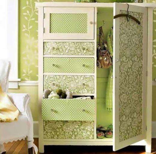 Декор шкафа плёнкой