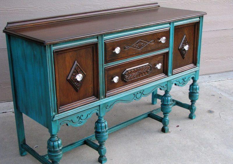 Обновляем старую полированную мебель своими руками