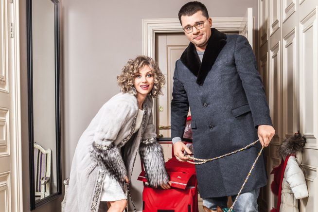 Гарик Харламов и Кристина Асмус в своей квартире