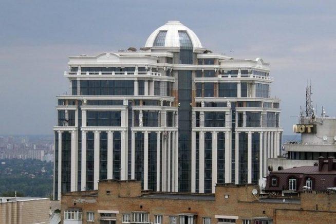Здание квартиры Маши Распутиной