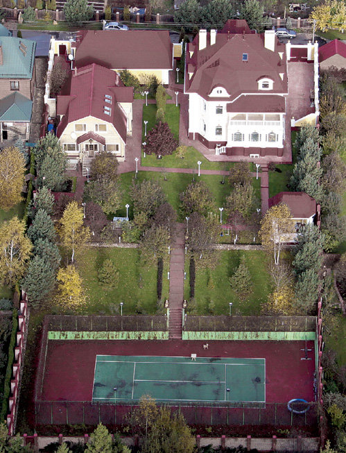 Дом Распутиной на Рублевке