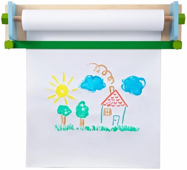 Рулон бумаги для рисования