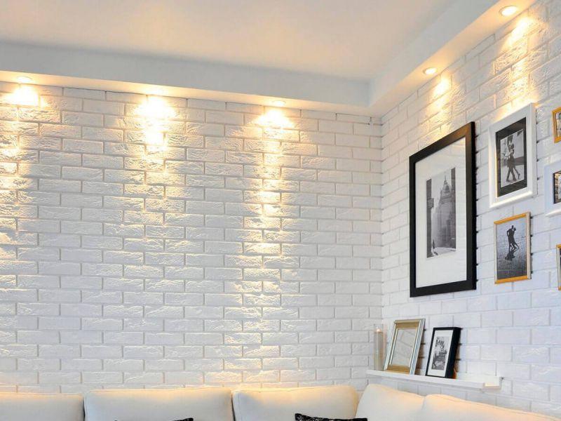 Лофт за копейки: как сделать имитацию кирпичной стены своими руками