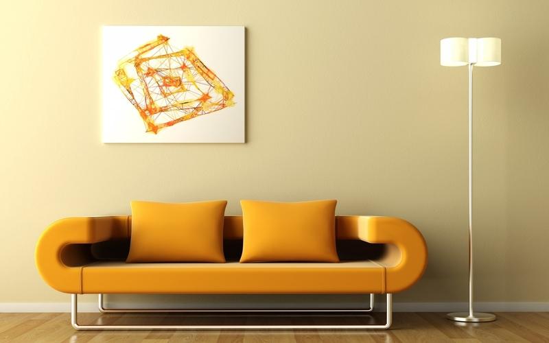 20 лучших вариантов расположить картины на стене