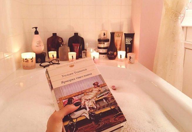 Ванная комната в квартире Алёны Водонаевой