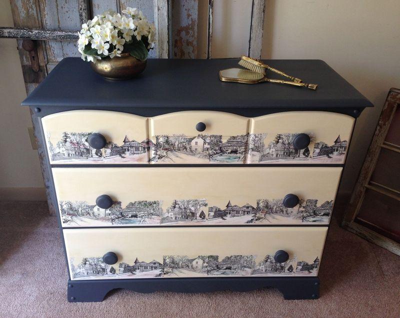 Как преобразить старую мебель своими руками