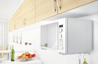 Микроволновка на кухне