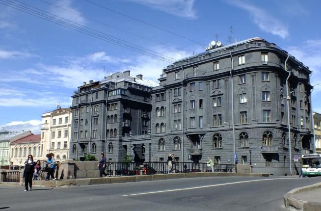 Дом Сергея Шнурова в Санкт-Петербурге