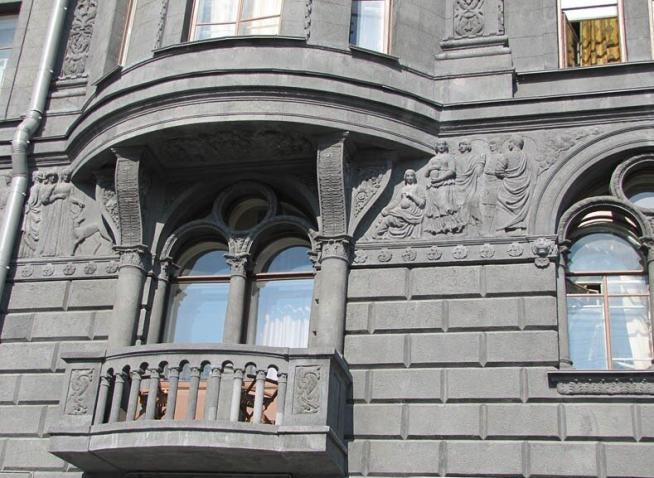 Балкон в квартире Сергея Шнурова