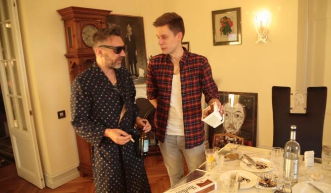 Квартира Сергея Шнурова