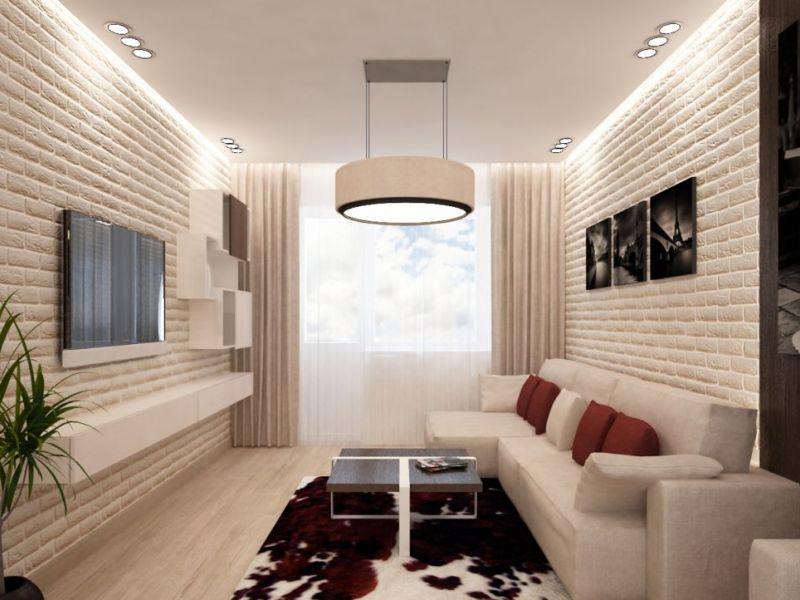 7 советов по выбору штор в узкую гостиную