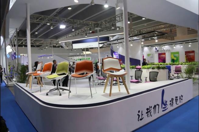 Выставка мебели в Китае