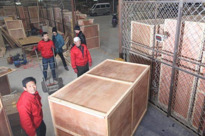 Упаковка грузов в Китае