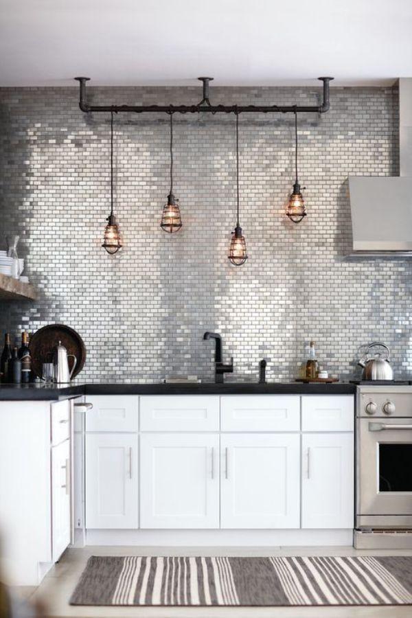 Дизайн небольшой кухни в стиле лофт