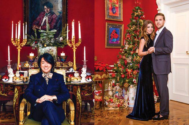 Валентин Юдашкин и его дочь с мужем
