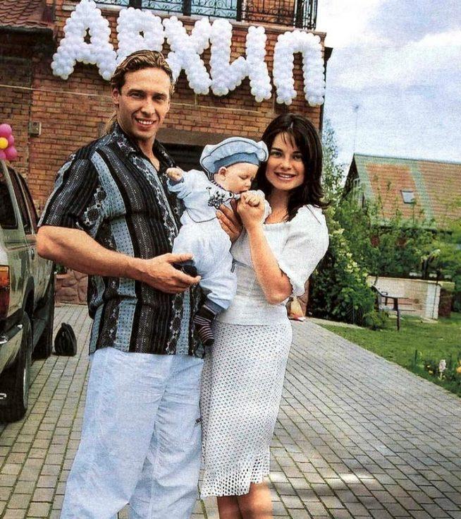 Наташа Королёва с семьёй