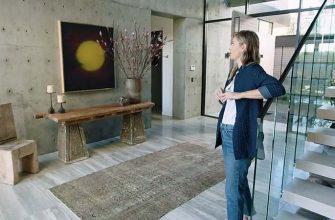 Мария Шарапова в своём доме