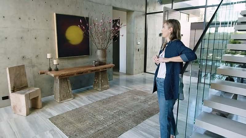 Где живёт Мария Шарапова: дом внутри и снаружи на фото