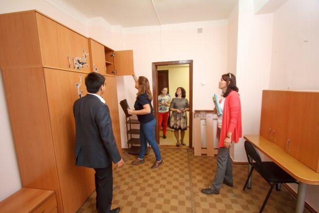 Проверка в общежитии
