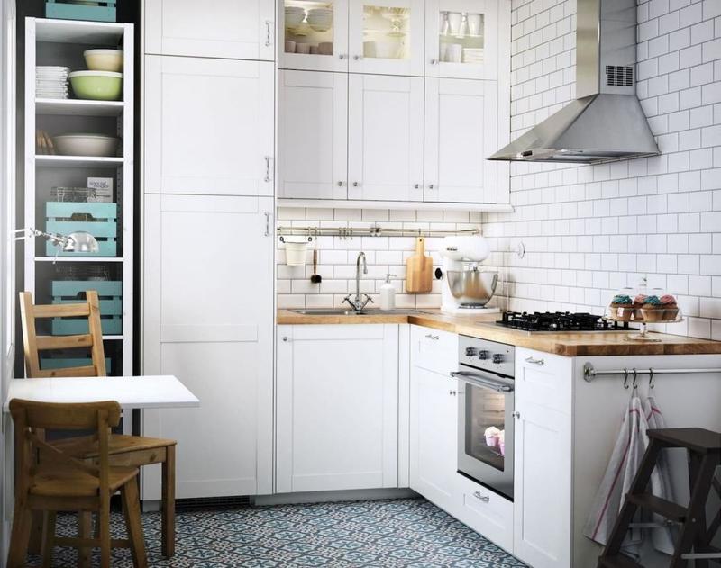 20 идей интерьера маленькой кухни в стиле прованс