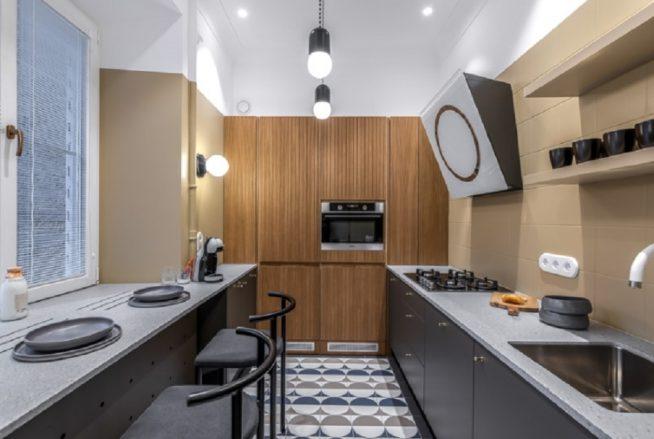Квартирный вопрос, кухня-гостиная Мазуренко